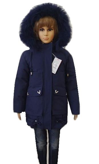 Пальто для дівчаток 116-134