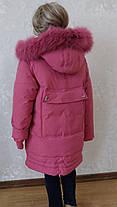 Пальто для девочек 110-134, фото 3