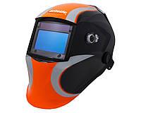 Сварочная маска VITA Artotic SUN7B чёрно-оранжевая, фото 1