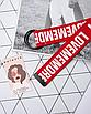 Длинный пояс женский красный тканевый ремень с надписью lovememore ретро винтажный в стиле 90-х, фото 3