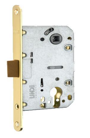 Механизм для дверей под цилиндр P-2056C MVM золото