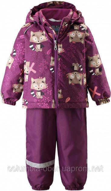 Зимний комплект для девочки Lassie by Reima Oivi 713732.9-4844. Размеры 80 - 98.