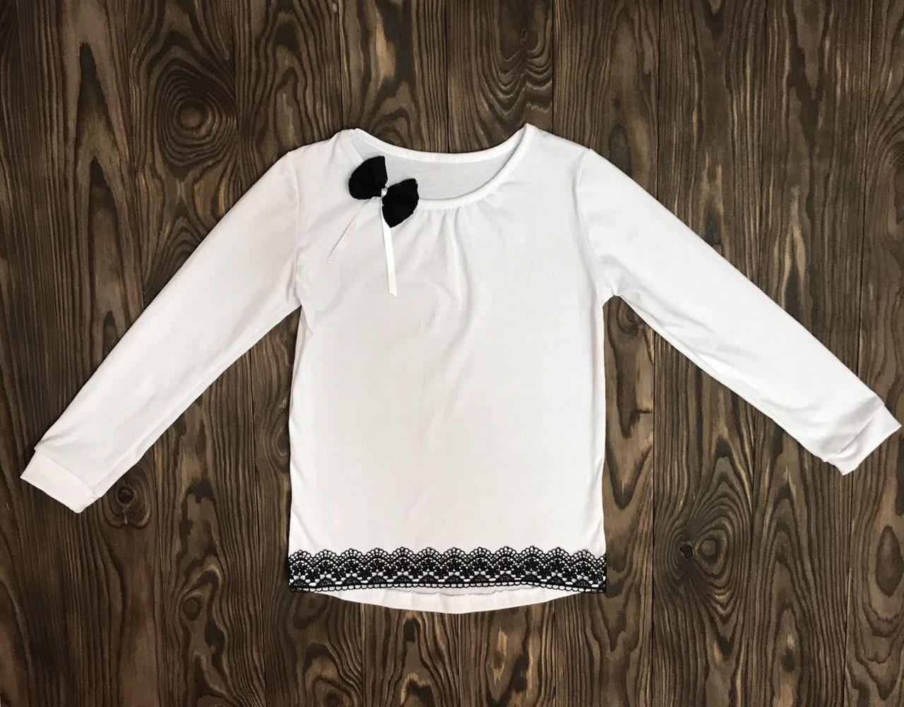 Блуза шкільна для дівчинки Агата