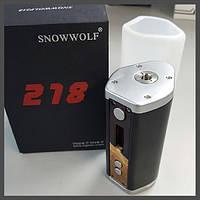 Батарейный мод Sigelei Snowwolf 218W TC Оригинал, фото 1