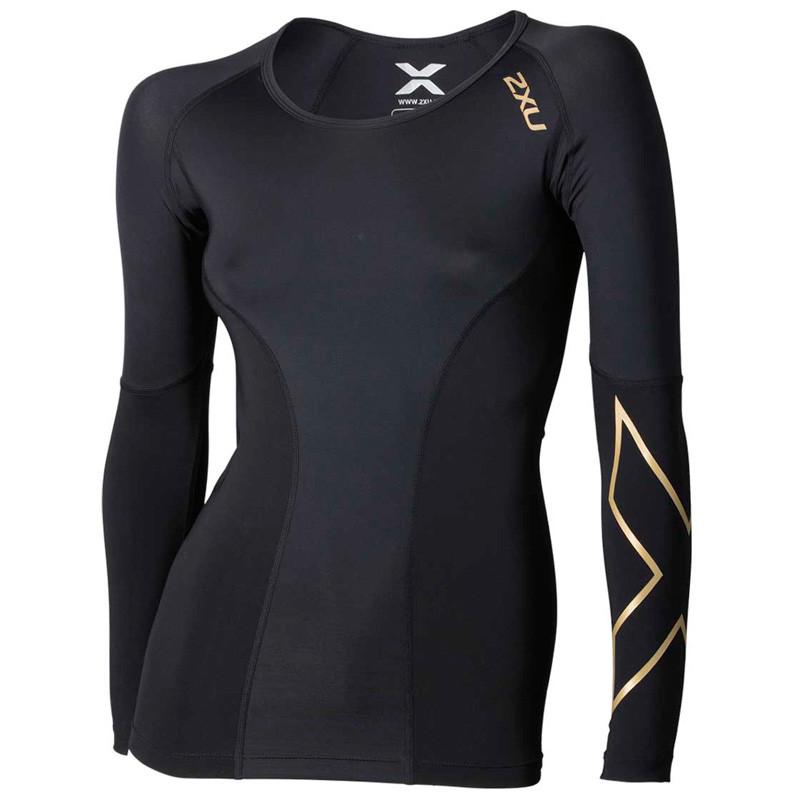 Женская компрессионная футболка 2XU Elite Compression L/S Top (Артикул: WA3016a)