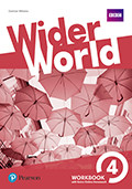 Wider World 4 WorkBook with Online Homework