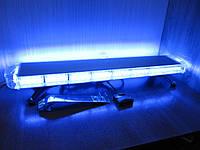 Световая проблесковая панель LED72-98см. синего цвета. https://gv-auto.com.ua, фото 1