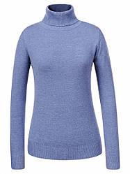 Гольф / свитер женский Glostory голубой