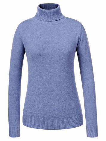 Гольф / свитер женский Glostory голубой, фото 2