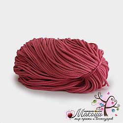 Полиэфирный шнур для вязания, 4 мм,  розовый