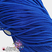 Полиэфирный шнур для вязания, 4 мм, василек