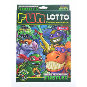 """Ігровий набір """"Funny loto"""" """"TMNT Dino"""""""