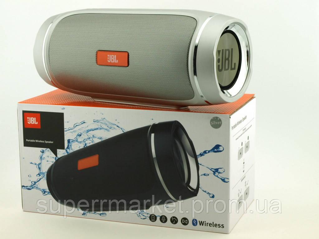 JBL XTREME 2+ X90 40W копия, портативная колонка с Bluetooth FM MP3, серебряная