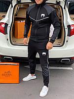 ⭐ Мужской черный спортивный костюм Venum (реплика)