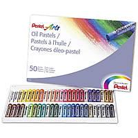 Масляна пастель Pentel Arts Oil Pastels 50 кольорів