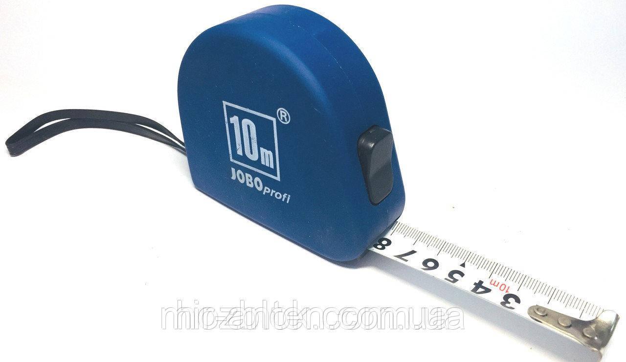 Рулетка измерительная лента Jobo profi 10m 25mm