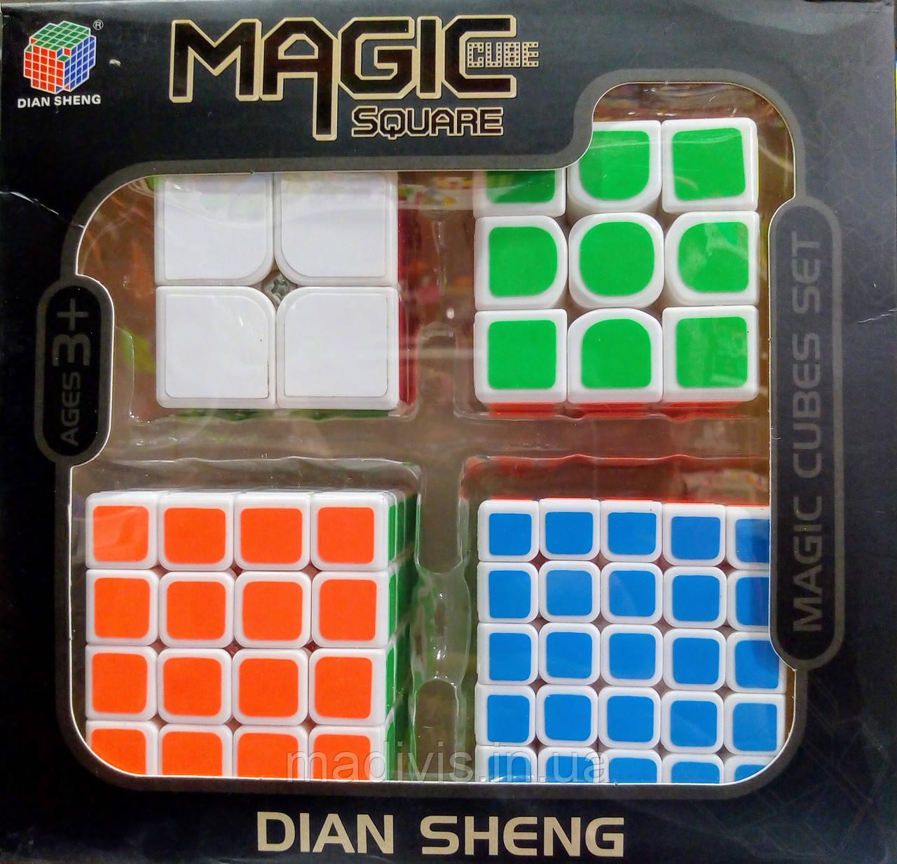 Подарунковий набір Magic CUBE 4 кубика рубіка