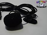 Микрофон с прищепкой на клипсе, петличка, микрофон с клипсой на одежду,  Мелитополь, фото 2