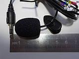 Микрофон с прищепкой на клипсе, петличка, микрофон с клипсой на одежду,  Мелитополь, фото 4
