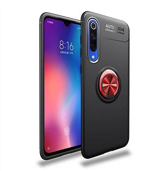 TPU чехол Deen ColorRing под магнитный держатель для Xiaomi Mi CC9 / Mi 9 Lite
