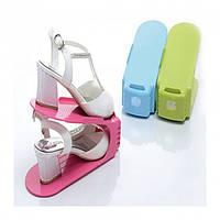 🔥 Подставка для обуви Shoe Stan, 4шт/пачке. Коробка для обуви. Органайзер для обуви, фото 1