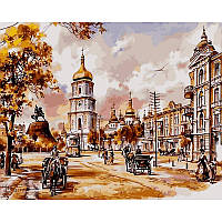 Картина по номерам в коробке София Киевская VP048 40x50 см Babylon Turbo