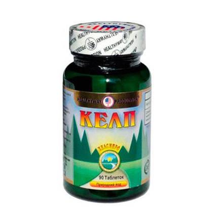 Келп таблетки при захворюваннях, що обумовлені дефіцитом йоду, №90, фото 2