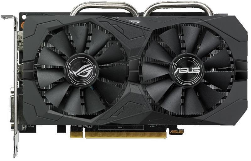 Видеокарта AMD Radeon RX 560 4GB GDDR5 Strix Gaming OC Asus (ROG-STRIX-RX560-O4G-GAMING)