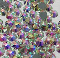 Стразы термоклеевые Premium Crystal AB Hot Fix Горячей фиксации
