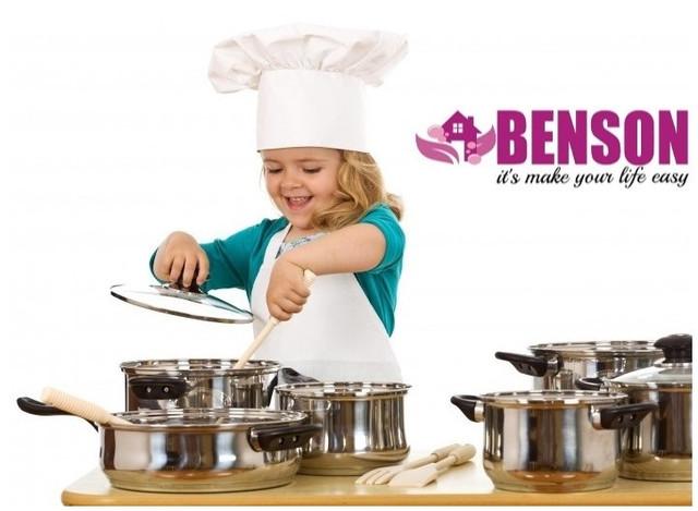 Кастрюли , наборы кастрюль, сотейники, ложки вилки, и ВСЕ ДЛЯ КУХНИ от Benson