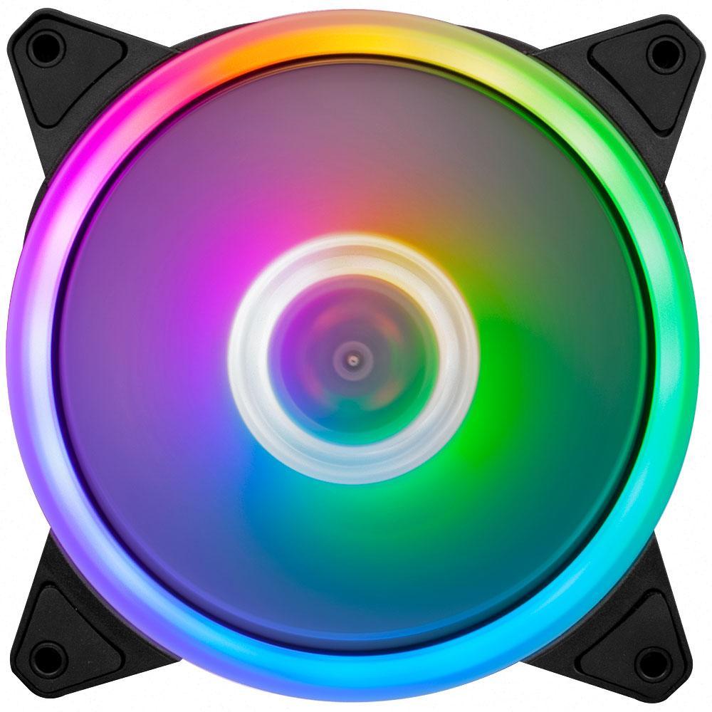 Вентилятор 1stPlayer Firemoon M1 RGB Combo 3; 120х120х25мм, 5-pin