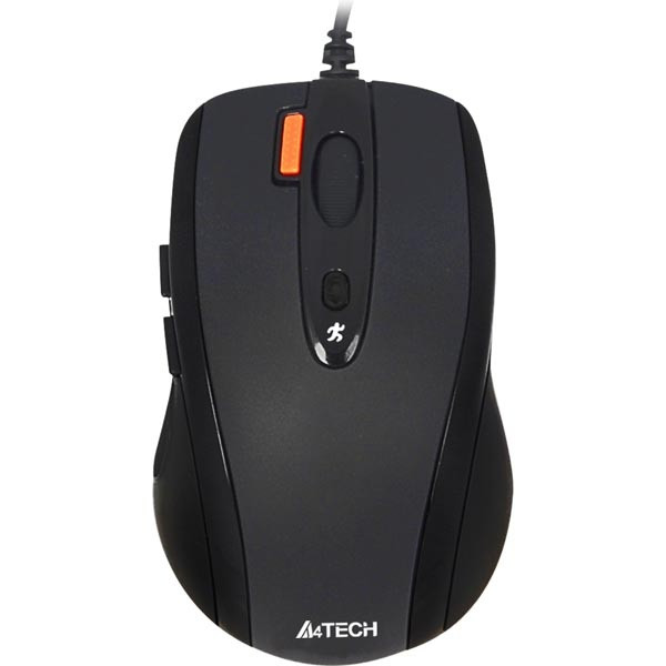 Мышь A4Tech N-70FX-1 черная USB V-Track