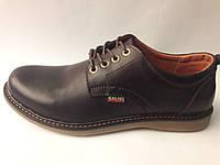 Мужские туфли Черные Gelios, фото 1