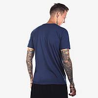 Футболка мужская BLACK синяя, фото 2