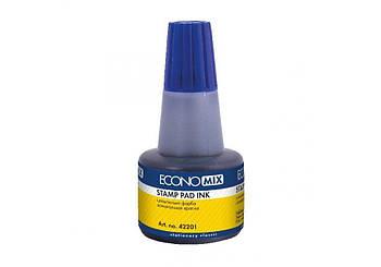 Штемпельная краска синяя 30мл