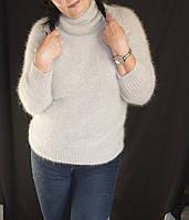 Вязаный свитер из ангоры. Разные цвета