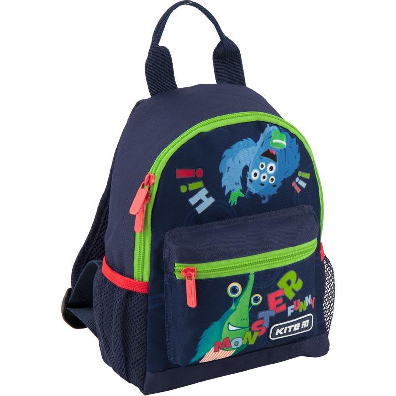 Рюкзак дошкольный Kite Kids Jolliers 25х19.5х9.5 см 4 л Синий