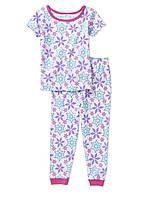 Пижамы детские с коротким рукавом для девочек 3-4 года Поштучно Disney Frozen (США)