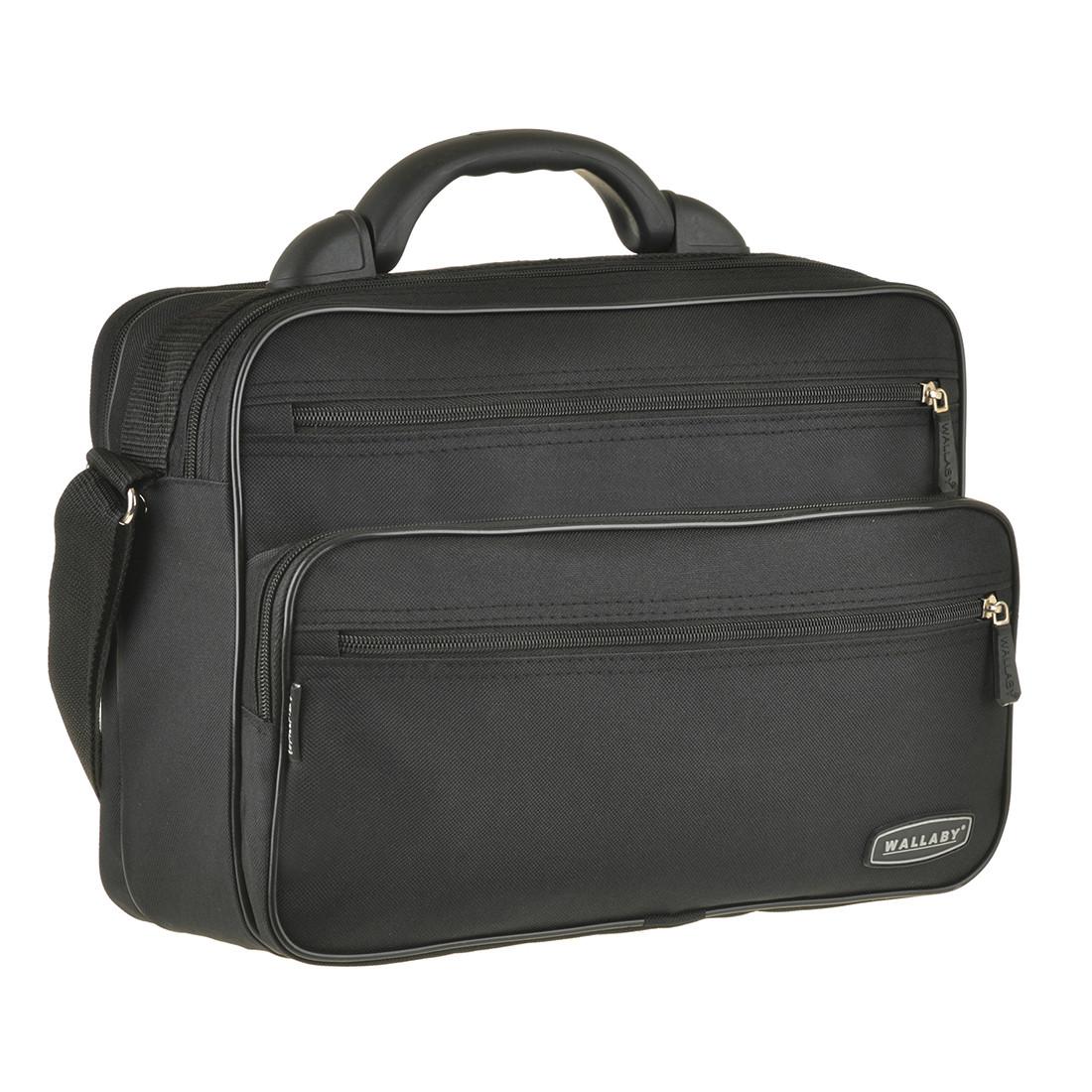 Мужская сумка Wallaby 36х26х16 ткань полиэстер, пластиковая ручка  в 2651