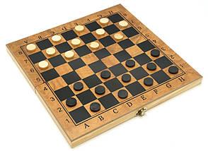 Шахматы / Шашки / Нарды - Набор 3в1, дерево, доска 30х30 см., фото 2