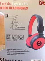 Красные беспроводные наушники Monster Beats By Dr.Dre MS 220, фото 3