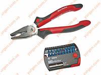 Набор инструментов Wiha (плоскогубцы 180 мм, и набор бит XSelector Inkra PH).
