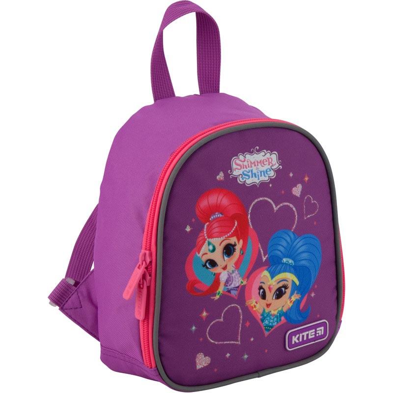 Рюкзак дошкольный Kite Kids Shimmer&Shine 21х18х7 см 3 л Фиолетовый