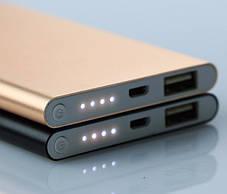 Power Bank Xiaomi Mi Slim 12000 mAh (серый), фото 3