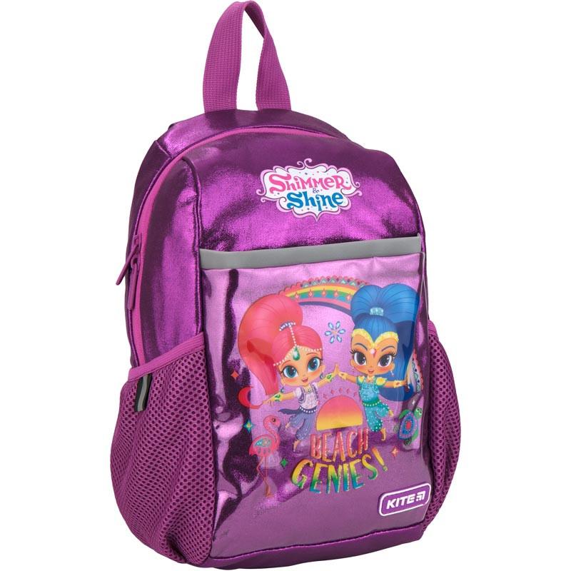 Рюкзак дошкольный Kite Kids Shimmer&Shine 30х17х10 см 7 л Фиолетовый