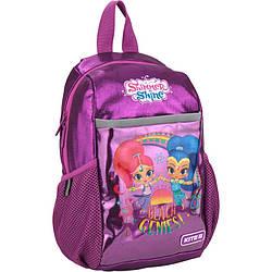 Рюкзак дошкольный Kite Kids Shimmer&Shine 30х17х10  7 литров Фиолетовый