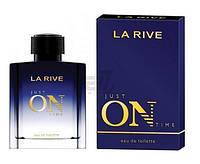 Туалетна вода для чоловіків La Rive Just On Time 100 мл  (5901832066842)