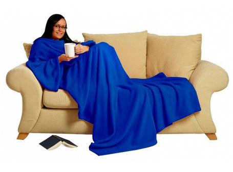 Теплый плед с рукавами Snuggle, фото 2