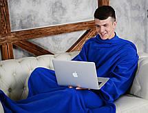 Теплый плед с рукавами Snuggle, фото 3