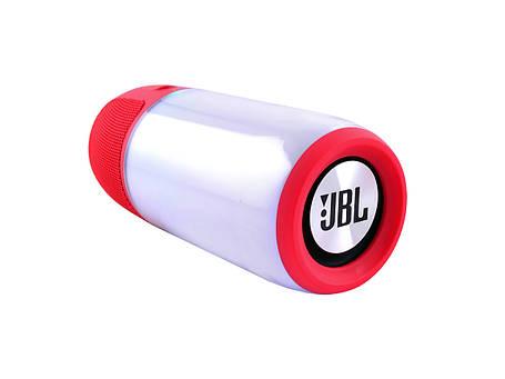 Портативная колонка со светомузыкой JBL Pulse 3 Mini (Красная), фото 2